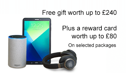 Pick a BT gift worth up to £249