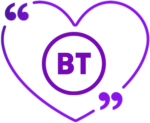 BT review logo